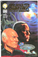 Star Trek The Next Generation/Deep Space Nine #2 (of 4) - Gold Foil Variant Cover
